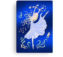 Dancing With the Fishes Canvas Print