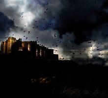 The Winter Siege of Birds by Kenart