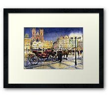Prague Old Town Square   Framed Print