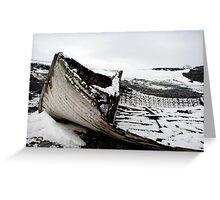 Antarctic Allegory Greeting Card