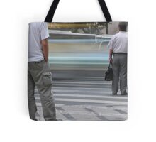 Frozen intersection Tote Bag