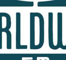 Worldwide FM Sticker