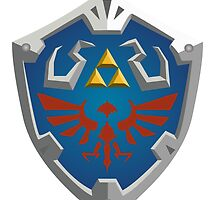 Hylian Shield by Nicole Hodson