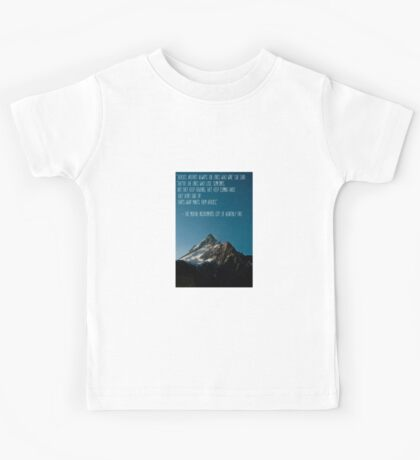 The Mortal Instruments: The City of Heavenly Fire quote Kids Tee