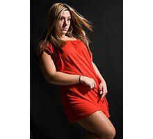 studio shoot Photographic Print