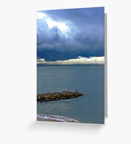 quiteness... Greeting Card
