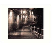 Ghost walkways Art Print