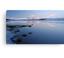 Loch tulla sunrise Canvas Print