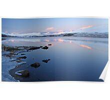 Loch tulla sunrise Poster