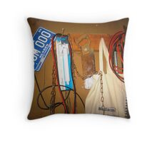 Just Old Clutter Throw Pillow
