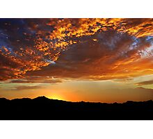 Tucson Sunset Photographic Print