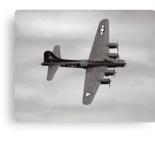 "B-17G ""Thunderbird"" Canvas Print"