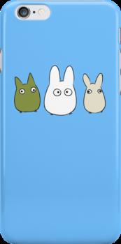 Chibi Totoro by masachan