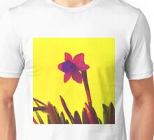 Daffodil Pink with Orange Unisex T-Shirt