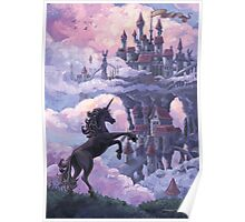 Unicorn Castle Poster