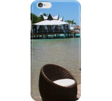 Infinity Luxury Swimming Pool in the Cayman Islands iPhone Case/Skin