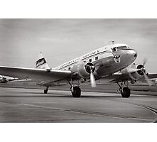 Continental Airlines DC-3 Photographic Print