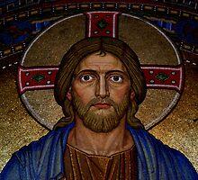 Portrait of Jesus by TriciaDanby