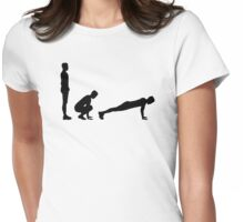 Burpees Womens Fitted T-Shirt
