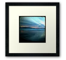 Benone Evening Framed Print