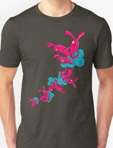 Many Rabbit on the Cloud T-Shirt