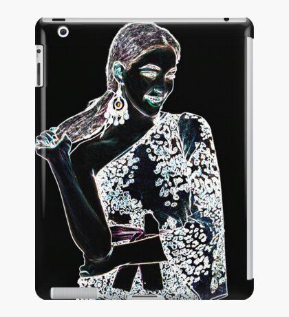 Fashion Girl Fine Art Print iPad Case/Skin