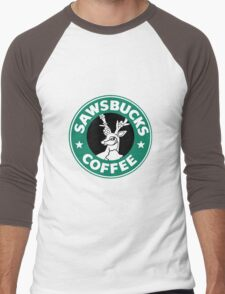 Sawsbucks Coffie Men's Baseball ¾ T-Shirt