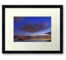 Matilda Bay At Dawn  Framed Print