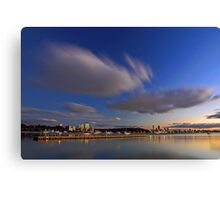 Matilda Bay At Dawn  Canvas Print