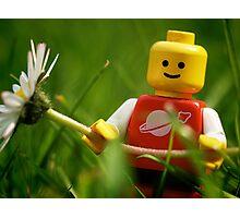 Lego Man Photographic Print