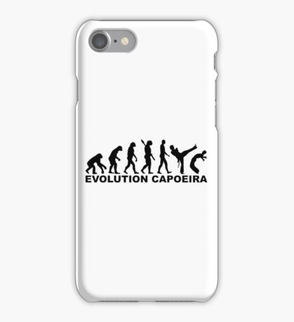 Evolution Capoeira iPhone Case/Skin