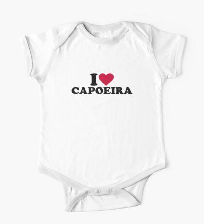 I love Capoeira One Piece - Short Sleeve