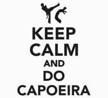Keep calm and do Capoeira One Piece - Long Sleeve