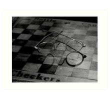 CHECKERED HISTORY Art Print