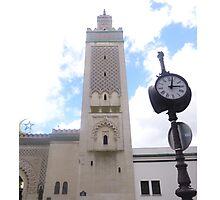 """Mosque of Paris """"The Minaret"""" Photographic Print"""
