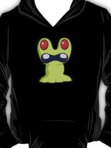 Cute Little Green Monster T-Shirt