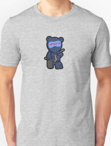 Beware the ninja bear warrior... SHINOBEAR! T-Shirt
