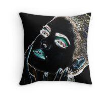 Angel Face Fine Art Print Throw Pillow