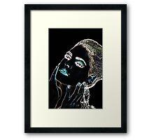Angel Face Fine Art Print Framed Print