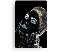 Angel Face Fine Art Print Canvas Print