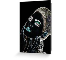 Angel Face Fine Art Print Greeting Card
