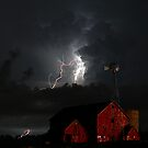 farm lightning by Don Cox