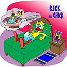 """Rick the chick """"NIGHTMARE"""" by CLAUDIO COSTA"""