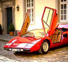 Lamborghini Countach LP400 by Uwe Rothuysen