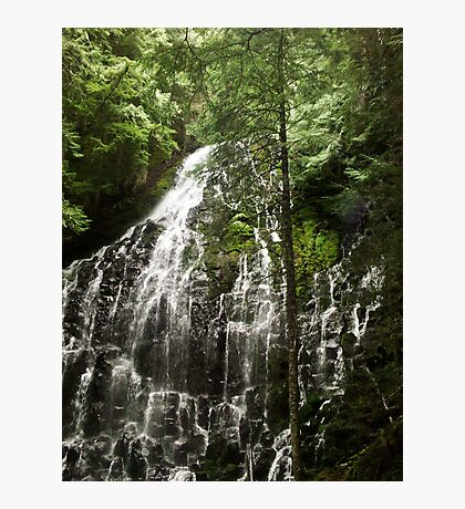 Ramona Falls - Oregon Photographic Print