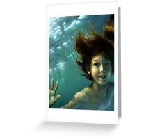 Natural Mermaid Greeting Card