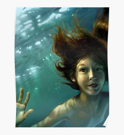 Natural Mermaid Poster