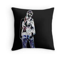 Fashion Model Fine Art Print Throw Pillow