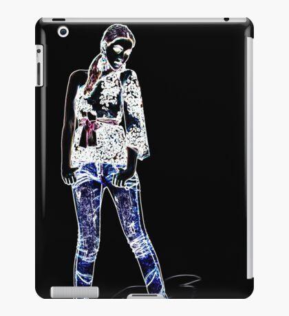 Fashion Model Fine Art Print iPad Case/Skin