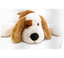 Cuddly Puppy Poster